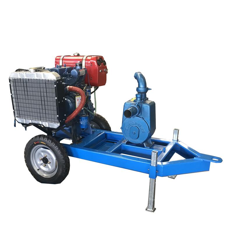 Cost-effective water pump unit