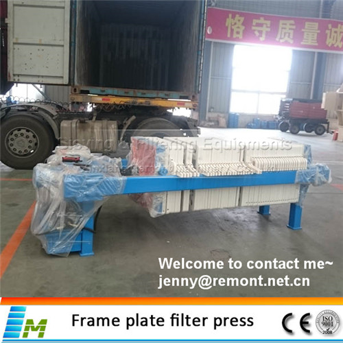Slurry dewatering chamber filter press price