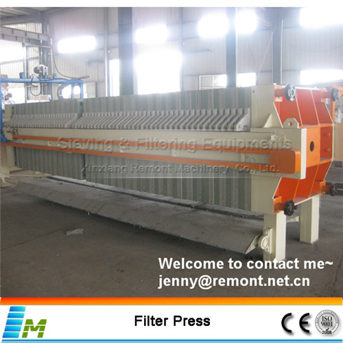 Hydraulic sunflower oil filter press
