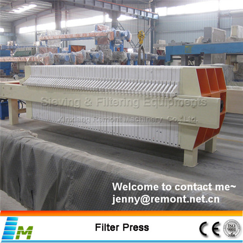 Automatic filter press machine