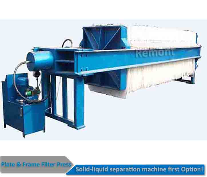 Slurry Filter Press PP Plate and Frame Filter Press
