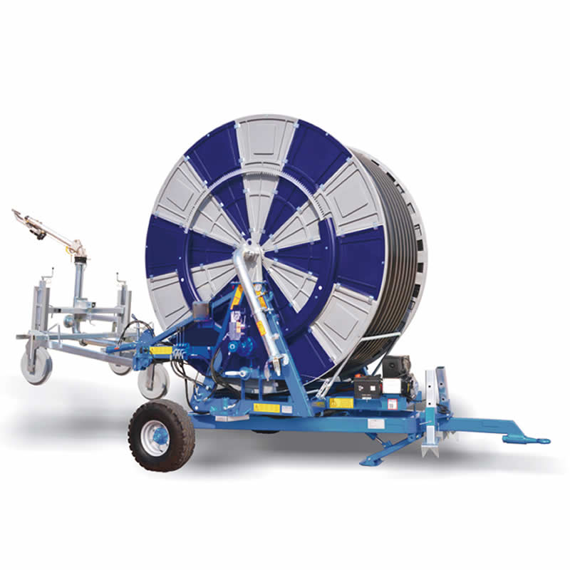 Agricultural Water Reel Irrigation Systems Automatic Mobile Wheel Sprinkler Irrigator Equipment