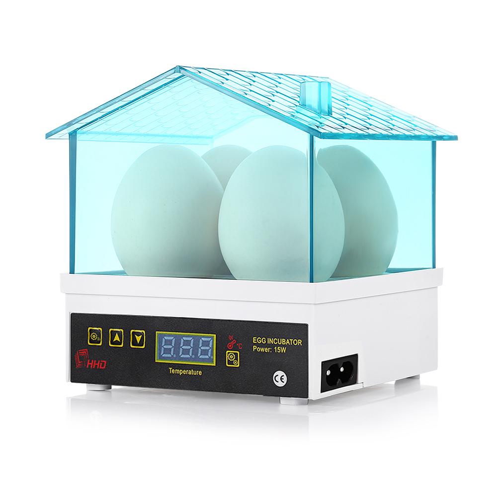 HHD New Fresh Auto 4 Egg Incubator for Kids Gift