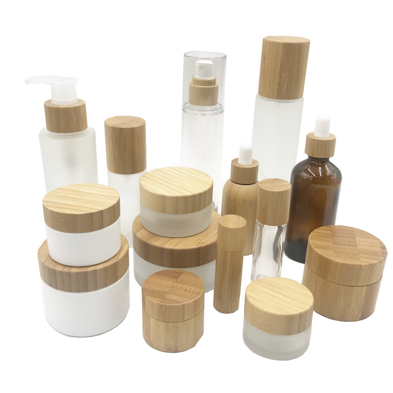 Acrylic powder bottle cosmetic Sub-packaged Face Cream Eye Cream Bottle Trial bottling Packaging material customizatio