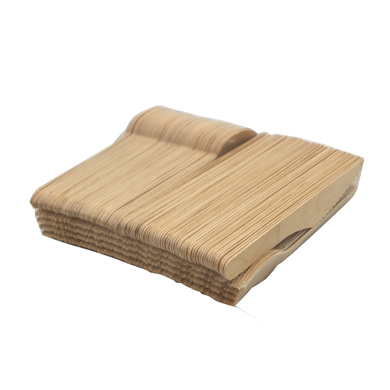 Birthday party biodegradable disposable wooden tableware