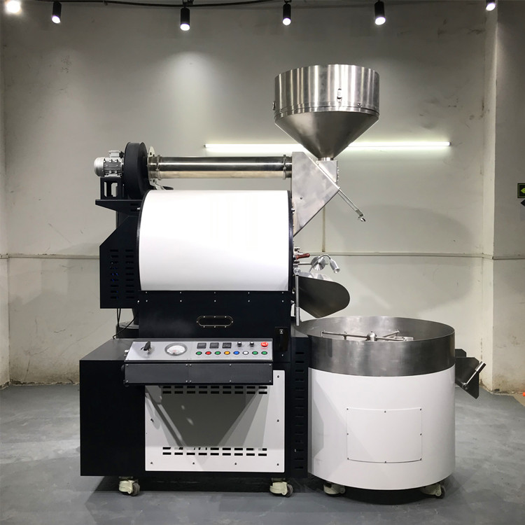 automatic feeder for 30kg coffee beans roaster machine nuts roaster machine