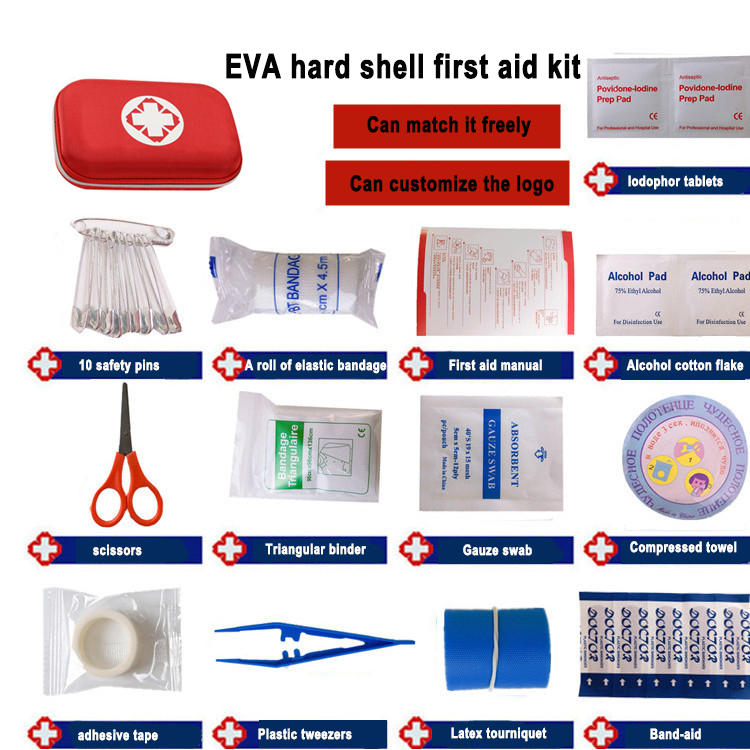 Portable first aid kit for home, fire and first aid can be customized Popular In China