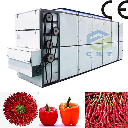 UL Certified Large Capacity Mesh Belt Chilli Drying Machine