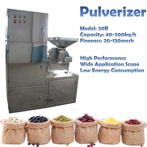 Hot Sale Stainless Steel Red Chilli Pepper Grinding Pulverizer Machine