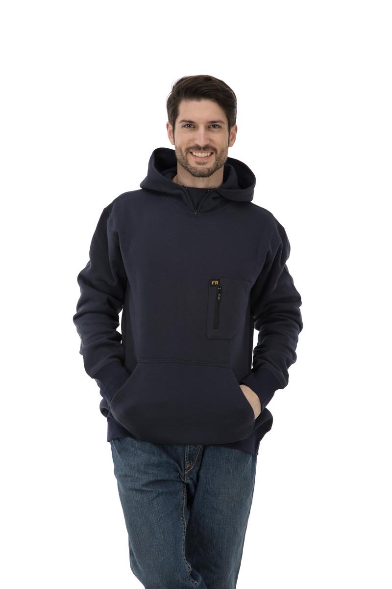 100% cotton FR hoodie