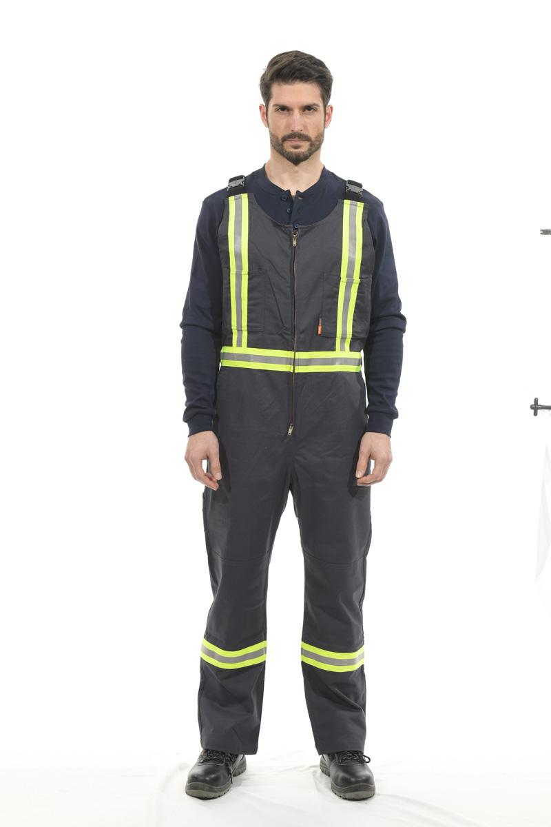 100% cotton FR bib pants